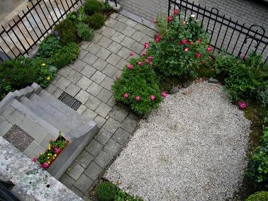 Secret gardens r alisations for Amenager une cour devant maison
